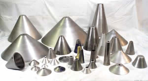 Conical Spun Shapes & Tapers