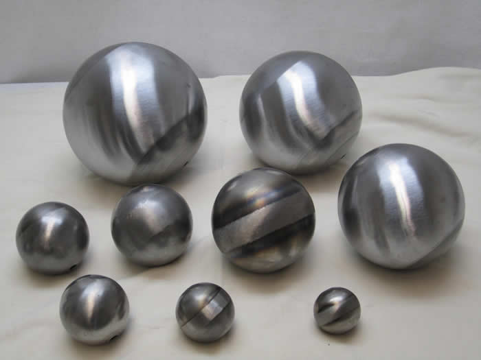 Hollow Balls Amp Half Balls Spun Fabricor Products Inc