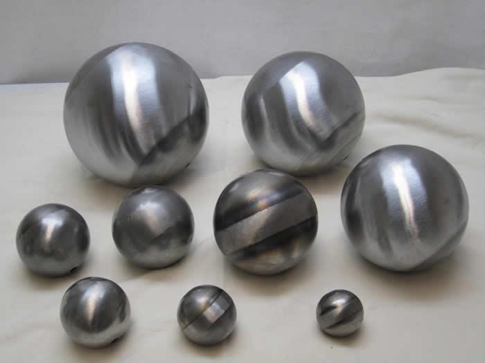 Weldable Steel Metal Half Hollow Ball Spheres Hemispheres Fabrication 30-200mm