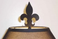 Lamp Finials Fabricated Plasma Cut
