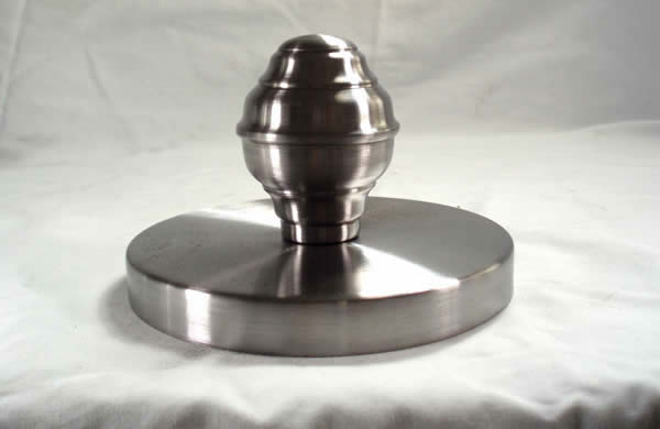FINIAL WITH CANOPY 5.0 INCH ID