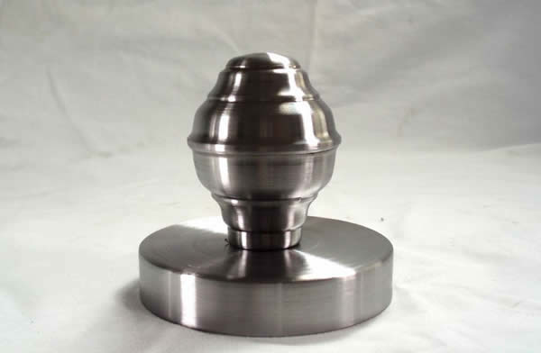FINIAL WITH CANOPY 3.5 INCH ID