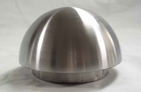 HEMISPHERE WITH FITTER 3.2 INCH
