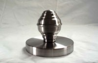 FINIAL WITH CANOPY 4.0 INCH ID