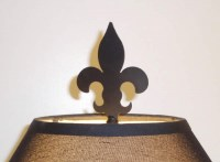 FLEUR DE LIS FINIAL 4 1/2-inch UNFINISHED STEEL