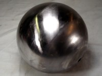 FULL 6-inch BALL, 16GA CRS, 13/32 (.406) THROUGH HOLE CENTER