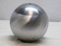 FULL 8-inch BALL, 16GA CRS, 13/32 (.406) THROUGH HOLE CENTER