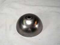 HALF 3 1/2-inch BALL, 18GA CRS, 13/32 (.406) CENTER HOLE